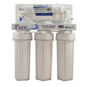 Пет степенна система обратна осмоза с регулатор на минерали PURE